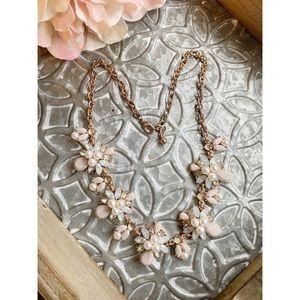Francesca's Rose Gold Statement Necklace